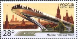 Mint Stamp Europa CEPT 2018 From  Russia - 2018
