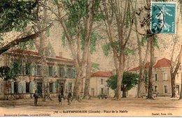 St - SYMPHORIEN  - Plce De La Mairie - Sabres