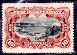 Congo-Belga-018 - Emissione 1894 (+) Hinged - Senza Difetti Occulti. - Congo Belga