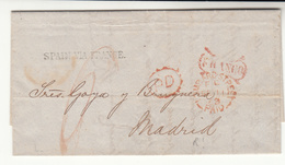 G.B. / London / Spain / Paid Marks - 1840-1901 (Viktoria)
