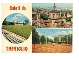 38 BERGAMO - TREVIGLIO - STADIO - ESTADIO – STADION – STADE – STADIUM – CAMPO SPORTIVO - Otras Ciudades
