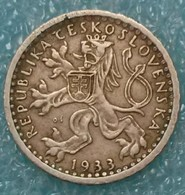 Czechoslovakia 25 Hellers, 1933 ↓price↓ - Czechoslovakia