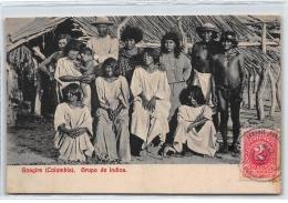 COLOMBIE : Goagira, Grupo De Indios - Tres Bon Etat - Colombie