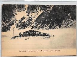 FALKLANDS : La Cabana Y El Observatorio Argentino Islas Orcadas - Tres Bon Etat - Falkland Islands