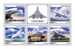 Guinea Bissau 2018  Concorde  S201806 - Guinea-Bissau