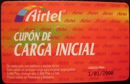 AIRTEL - LOTE 4 TARJETAS - USADAS 1ª CALIDAD - 4 FOTOS - A725 - Spain