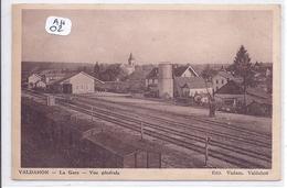 VALDAHON- LA GARE- VUE GENERALE - France
