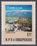 ALBANIA 1984, INTERNATIONAL PHILATELIC EXHIBITION EUROPHILA In ROME, COMPLETE, MNH SET, GOOD QUALITY, *** - Albania