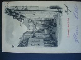 STAVELOT  : Rue De SPA En 1902 - Stavelot