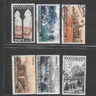 Italia 1953  Serie Turistica  Serie Completa Usata - 6. 1946-.. Repubblica