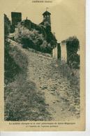 CREMIEU Montée Abrupte Et La Tour Pittoresque De St Hippolyte - Crémieu