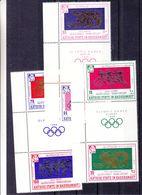 Aden - Kathiri State In Hadramaut - Jeux Olympiques - Javelot - Lutte - Disque - Course - Avec Interpanneaux - Sommer 1964: Tokio