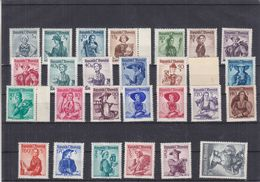 Autriche - Yvert 738A / 54A ** - MNH - Costumes - Valeur 280 Euros - 1945-60 Unused Stamps