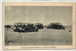 1 Cpa Renault à 6 Roues Jumelées, Circuit Environs De Ferdjane - Voitures De Tourisme