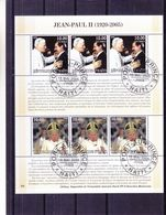Papes - Haiti - Bloc Oblitéré De 2005 - Papas