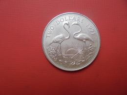 Bahamas 2$ ARGENT 1971 (FLAMINGO) - Bahamas