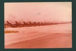 Aerei Caccia FIAT G91 Aviazione Aeronautica Militare Formazione Aeroporto Di Istrana Foto Anni 70 - Aviazione