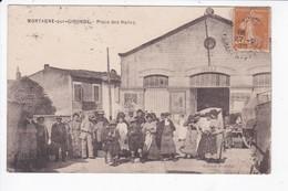 MORTAGNE SUR GIRONDE - PLACE DES HALLES - 17 - Other Municipalities