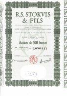 75-STOKVIS. R.S. STOKVIS & Fils. - Other
