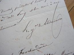 GENERAL Paul De LADMIRAULT (1808-1898) Algérie. GVR Militaire PARIS. AUTOGRAPHE - Autographes