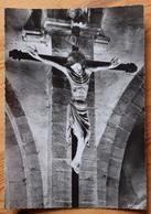 21 : Vitteaux - Christ En Bois Polychrome (XIVe S.) - CPSM GF - (n°12837) - Francia