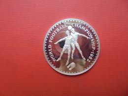 "LESOTHO 10 MALOTI ARGENT 1982 ""PROOF"" - Lesotho"