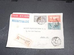 MAROC - Enveloppe ( Devant ) En Recommandé De Casablanca Pour Paris- L 20484 - Morocco (1891-1956)