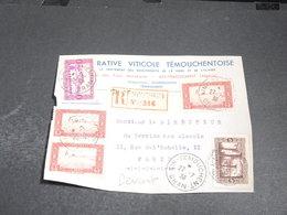 ALGÉRIE - Enveloppe Commerciale ( Devant ) En Recommandé De Ain Temouchent Pour Paris En 1938 - L 20485 - Algérie (1924-1962)