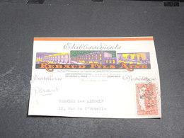ALGÉRIE - Enveloppe Commerciale ( Devant )  Publicité Anis Rebaud - L 20486 - Algeria (1924-1962)