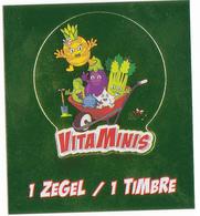 """IMAGE DELHAIZE """"VITAMINIS"""" 2018 TIMBRE - Vignettes Autocollantes"""