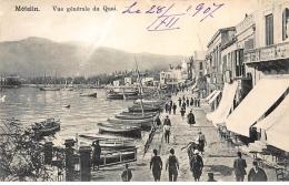 GRECE : Metelin Vue Generale Du Quai (phila) - Etat - Grecia