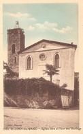 SAINT JEAN Du GARD - Le Temple Protestant De L'église Libre Et La Tour De L'horloge - Saint-Jean-du-Gard