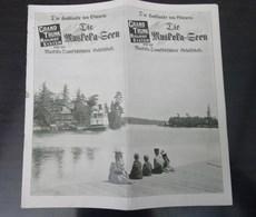 Die Hochlande Von Ontario Die Muskoka - Geen Canada - Dépliants Touristiques