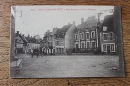 MOULINS ENGILBERT (58) - PLACE LAFAYETTE ET CAISSE D'EPARGNE - Moulin Engilbert