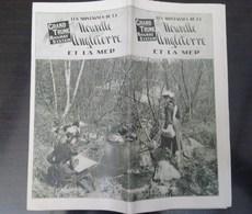 Les Montagnes De La Nouvelle Angleterre Et La Mer + Carte + Hotels - Tourism Brochures