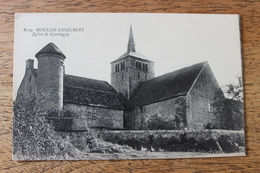 MOULINS ENGILBERT (58) - EGLISE DE COMMAGNY - Moulin Engilbert