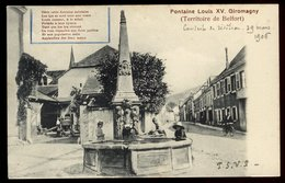 Giromagny - Fontaine Louis XV - Giromagny