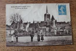 MOULINS ENGILBERT (58) - LE CHAMP DE FOIRE - Moulin Engilbert