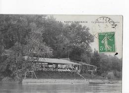 2 Cpa Alfort/Saint- Maurice : Baignade De St-Maurice Sur L'ile Charentonneau - Alfortville