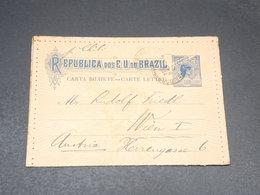 BRÉSIL - Entier Postal Pour L 'Autriche En 1904 - L 20503 - Entiers Postaux