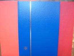 ALBUMS LEUCHTURM 16 PAGES NOIRES NEUF QUALITE ALLEMANDE COUVERTURES BLEUES - Grand Format, Fond Noir
