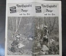 New England's Berge - Tourism Brochures
