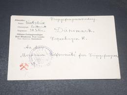 ALLEMAGNE - Enveloppe En Feldpost Pour Le Danemark En 1917 - L 20506 - Covers & Documents