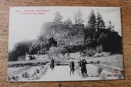 MOULINS ENGILBERT (58) - LES RUINES DU VIEUX CHATEAU - Moulin Engilbert