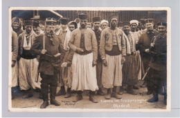 Ohrdruf Kriegsgefangenenlager, Zuaven, Camp Des Prisonniers Ca 1916 OLD PHOTOPOSTCARD 2 Scans - Guerre 1914-18