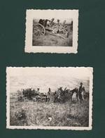 Potenza Poggio Cavallo 1936 Manovre Militari Artiglieria Cannoni Regio Esercito 2 Foto - Guerre, Militaire