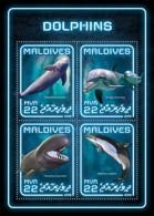 Maldives 2018 Dolphins  S201806 - Maldives (1965-...)