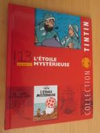 TIN718 BD Cartonné Petit Format A5 , TINTIN HERGE L'ETOILE MYSTERIEUSE , 2010 Env 16 Page Sur La Réalisation Du DVD - Hergé