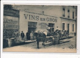ANNONAY : Vins En Gros A. Gaudt-colombier Entrepot, Attelages, Marchand De Vins En Gros - Tres Bon Etat - Annonay
