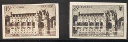 Francia  *Yv 610b/11a. 1944. Serie Completa. SIN DENTAR. MAGNIFICA. Yvert 2014: 91 Euros. - France